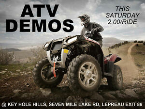 ATV / SXS Demo Day!!