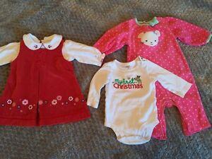 6M Christmas Outfits Cambridge Kitchener Area image 1