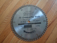 10 x 60 Tooth Carbiide Crosscut/Rip Sawblade by Freud
