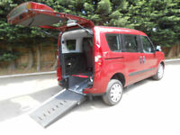 2013 Fiat Doblo 1.4 16v Wheelchair Accessible Vehicle.