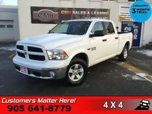"2018 Ram 1500 SLT  CAM BT 8W-P/SEAT P/REAR-WINDOW TOW-PKG 18"" AL"