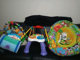 Baby interactive toy bundle