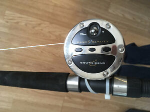 South Bend Black Beauty 2 Fishing Pole