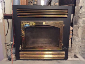 Napoleon Wood Fireplace with Blower (NZ26)