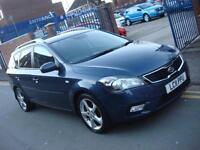 2011 11 PLATE Kia Ceed 3 1.6TD Estate Automatic in Met Blue