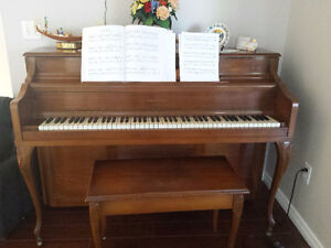 Piano for sale. Reason for sale is Moving out of country.