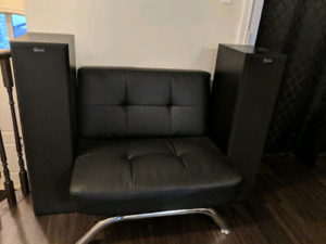 5 pc nuance surround speaker system $500