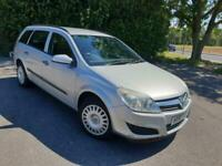 VAUXHALL ASTRA 1.8 LIFE PETROL AUTOMATIC SILVER 5 DOOR ESTATE 2007