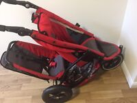 Phil and Teds double buggy two colours