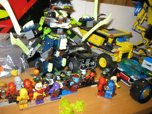 Massive Lego sets and parts collection, Ninjago, City, Movie
