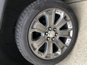"GMC 22"" Wheels for swap"