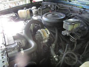 1989 SUBURBAN 350 TBI ENGINE