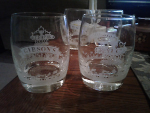 Gibson's CFL whisky glasses