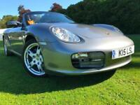 *STUNNING EXAMPLE WITH ONLY 29K*PORSCHE BOXTER 2.7(987) CONVERTIBLE WITH P/PLATE