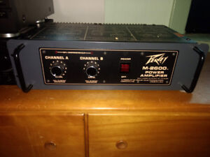 Peavey M-2600 power amplifier ( vintage)