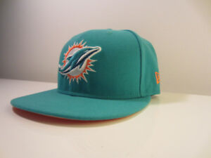 The 2-0 Miami Dolphins!! New Era 59Fifty NFL hat. Size 7 1/8.