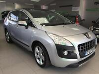 Peugeot 3008 Crossover 1.6HDi ( 110bhp ) FAP Exclusive Sat Nav. Full Mot, lovely