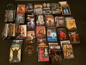 Over 55 DVD's