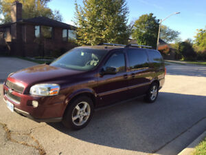 2008 Chevrolet Uplander LT Minivan, Van Safety and Etest!
