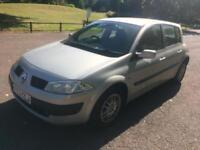 2003 03 RENAULT MEGANE 1.4 16V LOW 66K AIR CON! IDEAL FIRST CAR! CLEAN! PX SWAPS