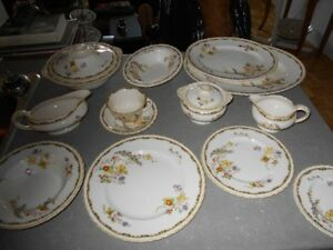 Set de vaiselle antique MYOTT