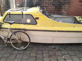 Boat double hull