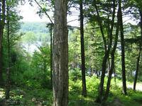 Terrain à vendre Outaouais lac des plages avec accès au lac