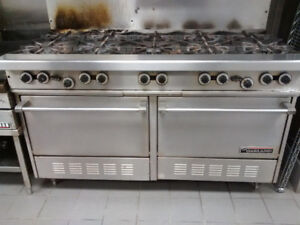 10 Burner Garland gas range