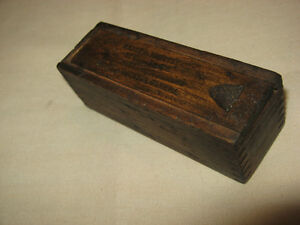 1930's Pratt & Whitney DOVETAILED WOOD BOX & Machine Tap