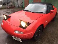 Mazda mx5 eunos 1.6 import convertible £1375