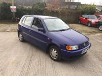 Volkswagen Polo 1.0 L, Very Low mileage, Service history, Power Steering, Long M