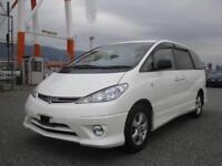 Toyota Estima direct Japan Import supplied fully UK Reg