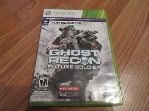 Jeux Xbox 360 Ghost Recon Future soldier