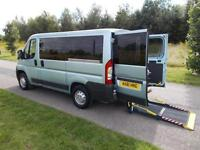 2011 61 Peugeot Boxer 2.2 Hdi, 5 SEATS + LARGE WHEELCHAIR ACCESSIBLE AREA wav