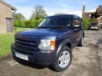 Land Rover Discovery 3 2.7TD V6 auto 2005MY S***CREAM LEATHER****