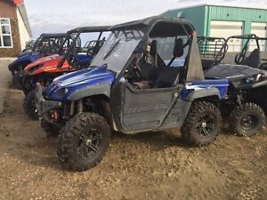 USED ATV AND SIDE X SIDE