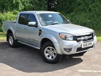 2012 Ford Ranger 2.5 TDCi Thunder Double Cab Pickup 4x4 4dr PICKUP in SILVE(...)