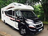 2016 (16) FIAT SWIFT KON-TIKI 625 BLACK EDITION MOTORHOME
