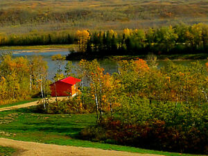 Cabins for Rent on the banks of the Peace RIver