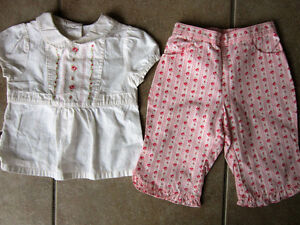 Janie and Jack Size 6 Month Outfit