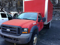 2005 FORD F-550 CUBE
