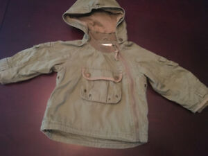 9-12m H&M fall jacket (fits large, closer to 18-24m)