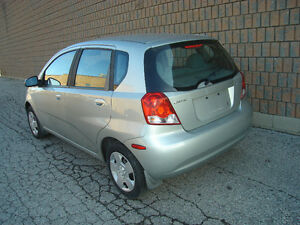 2005 PONTIAC  WAVE 4 DR HATCHBACK....SAFETIED & E-TESTED London Ontario image 2