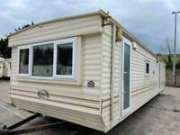 CHEAP DOUBLE GLAZED & HEATED 10FT WIDE 3 BED STATIC CARAVAN FOR SALE OFF SITE