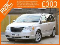 2010 Chrysler Grand Voyager 2.8 CRD Turbo Diesel Limited Ltd 7-Seater MPV 6 Spee