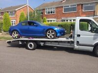 Vehicle collection and delivery (cars and small vans)
