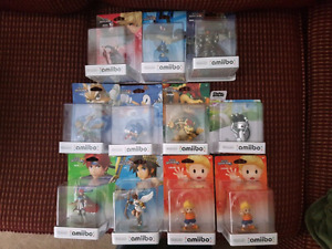 Boxed Amiibo Lot