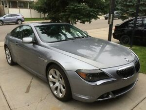 Clean LOW KM 2004 BMW 645ci Navi Fully loaded
