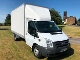Ford Transit 350 3.5T 115ps LWB Luton Box Van With Tail Lift, Only 37041 Miles