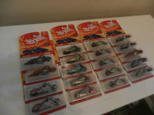 Hot Wheels Classics Spectraflame Motorcycles Various Lot